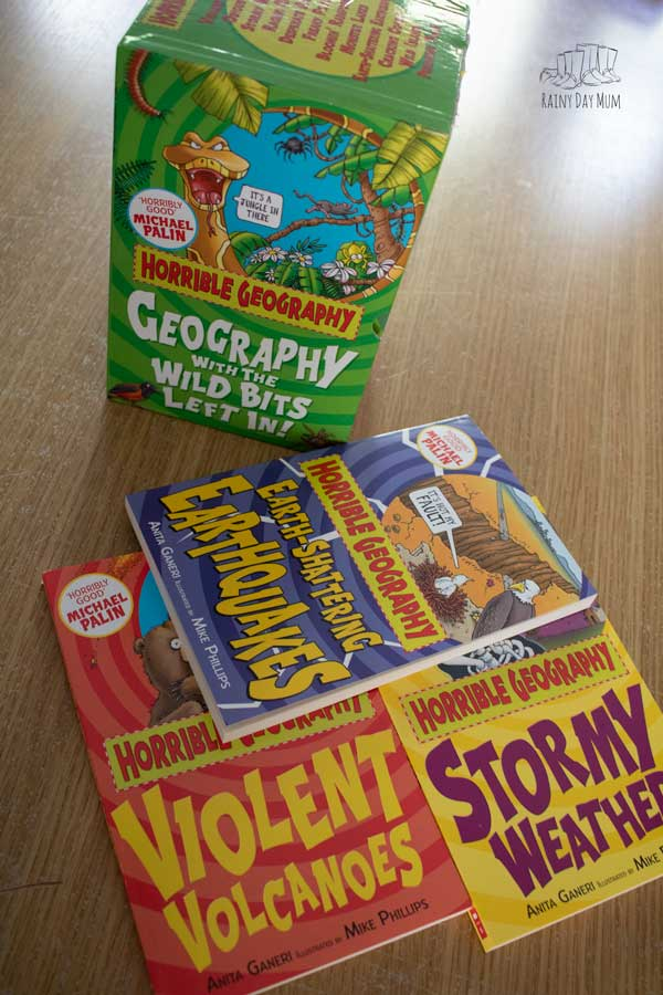 read aloud selection for geography with upper primary and ks3 pupils the horrible geography books